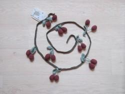 Shirley Bredal Cherry Garland deep berry 150 cm-20