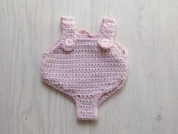 astas dukketøj Dragt lyserød 30-35 cm-20