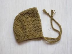 astas dukketøj Bonnet mustard 30-35 cm-20