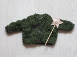 astas Dukketøj Cardigan Clover grøn-20