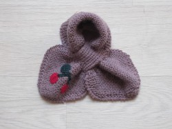 astas Cherry scarf old rose/red cherry-20