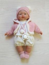 Llorens babydukke pige 33 cm-20