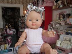 Paola Reina dukke asiat pige m/lyserødt undertøj-20