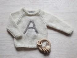 AstasSweaterFluffyALettercremebrownA-20