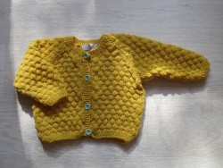 Astas Cardigan Sailor Happy Yellow-20
