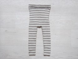 esencia leggings striped Ivory/pepple-20