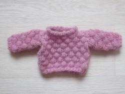 astasDukketjFluffyPuffyBubbleSweaterpink-20