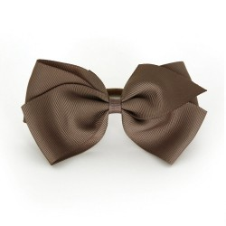 Verity Jones London Chocolate hair clip large-20