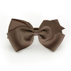 Verity Jones London Chocolate hair clip large-20