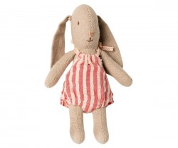 maileg Micro Bunny stribet romper-20