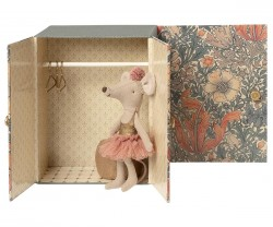maileg Dance Room m/ Big Sister Mouse-20