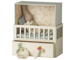 maileg Baby Room w/micro rabbit-20