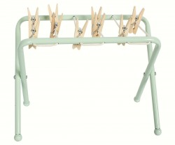 maileg Metal Clothes Post w/ pegs-20
