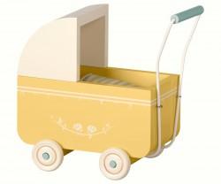 maileg Micro Dukkevogn yellow-20
