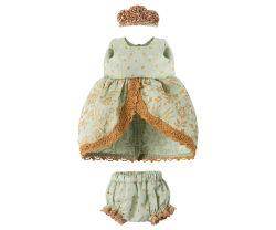 maileg Micro and Mouse Princess dress mint-20