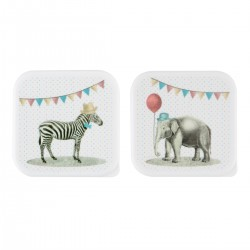 sass and belle Party animal lunch box zebra-20