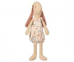 maileg Mini Bunny light girl flower suit rose-20