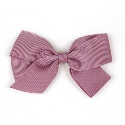 Verity Jones London Rosy Mauve hair clip medium-20