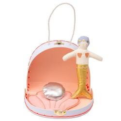 Meri Meri Mini Havfrue Dukke i kuffert-20