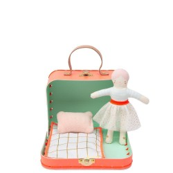 Meri Meri Mini Dukke Mathilda i kuffert-20