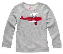 ma locomotion Aeroplane Sweatshirt grey-20