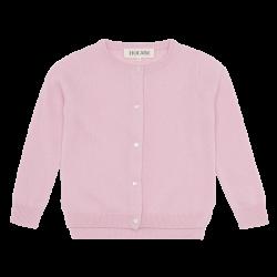 HOLMM COPENHAGEN Cardigan Molly 100% cashmere Blancmange soft pink-20