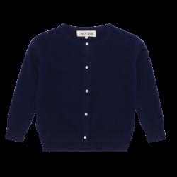 HOLMM COPENHAGEN Cardigan Molly 100% cashmere midnight-20