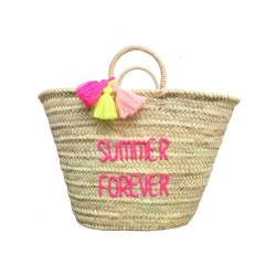 ROSE IN APRIL POMPON BASKET SUMMER FOREVER adult-20