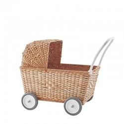 Olli Ella Dukkevogn Strolley natural Forventes på lager februar-20