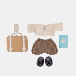 Olli Ella Dukktøj Dinkum Doll Travel Togs rust Forventes på lager i december-20