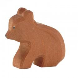 Ostheimer Bjørn siddende lille 6 cm-20