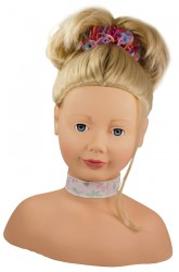 Götz styling head blond hair-20