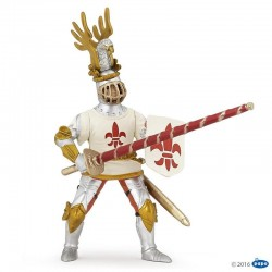 papo figur White Knight Fleur De Lys-20