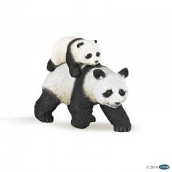 papo figur Panda and Baby Panda-20