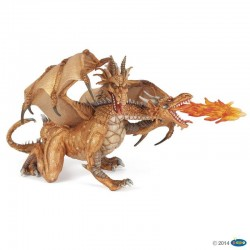 papo figur Two Headed Dragon gold-20