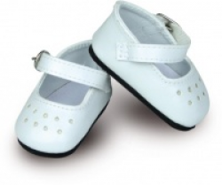 Petitcollin Dukkesko White Shoes 27 cm-20