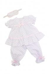 Bonnie and Pearl Dukketøj Pyjamassæt 46-50 cm-20