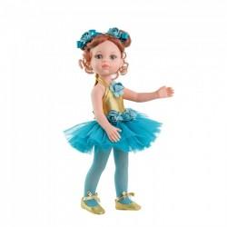 Paola Reina Dukketøj Amiga Ballerina kjole blue-20