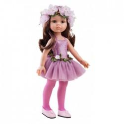 Paola Reina Dukketøj Amiga Ballerina kjole rose-20