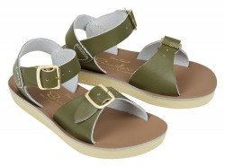 Salt-Water Surfer sandal olive-20