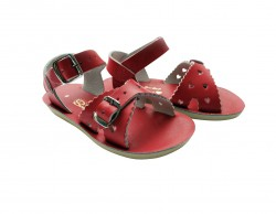 Salt-Water Sweetheart sandal red-20