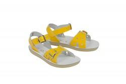 Salt-Water Sweetheart sandal shiny yellow-20