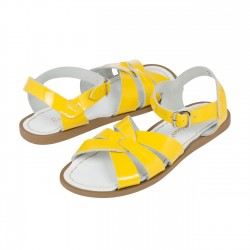 Salt-Water Original sandal shiny yellow barn-20
