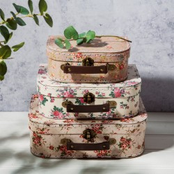 sass and belle Vintage Rose Suitcases 3 stk.-20