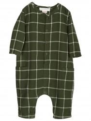 Serendipity Heldragt Brushed Suit grøn tern-20