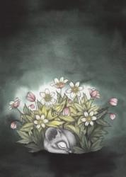 Kajsa Wallin Print Sleepy Anemones 30x40 cm-20
