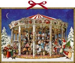 Spiegelburg Julekalender Nostalgic Christmas Roundabout vintage design-20
