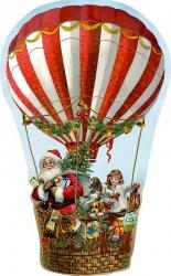 Spiegelburg Julekalender Mini Nostalgisk Jul Hot Air Balloon vintage design-20