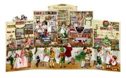 Spiegelburg Julekalender The Tiny Christmas Shop vintage design-20