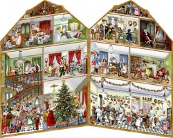 Spiegelburg Julekalender Party in the Victorian House vintage design-20